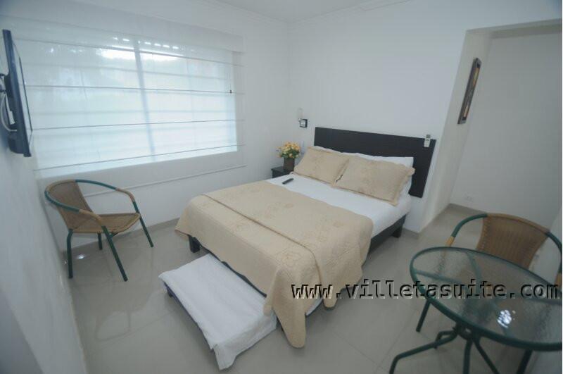 Villeta Suite Cama Doble + Cama Auxiliar