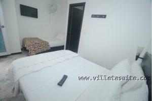 Hotel Villeta Suite Habitación Triple Ventilador